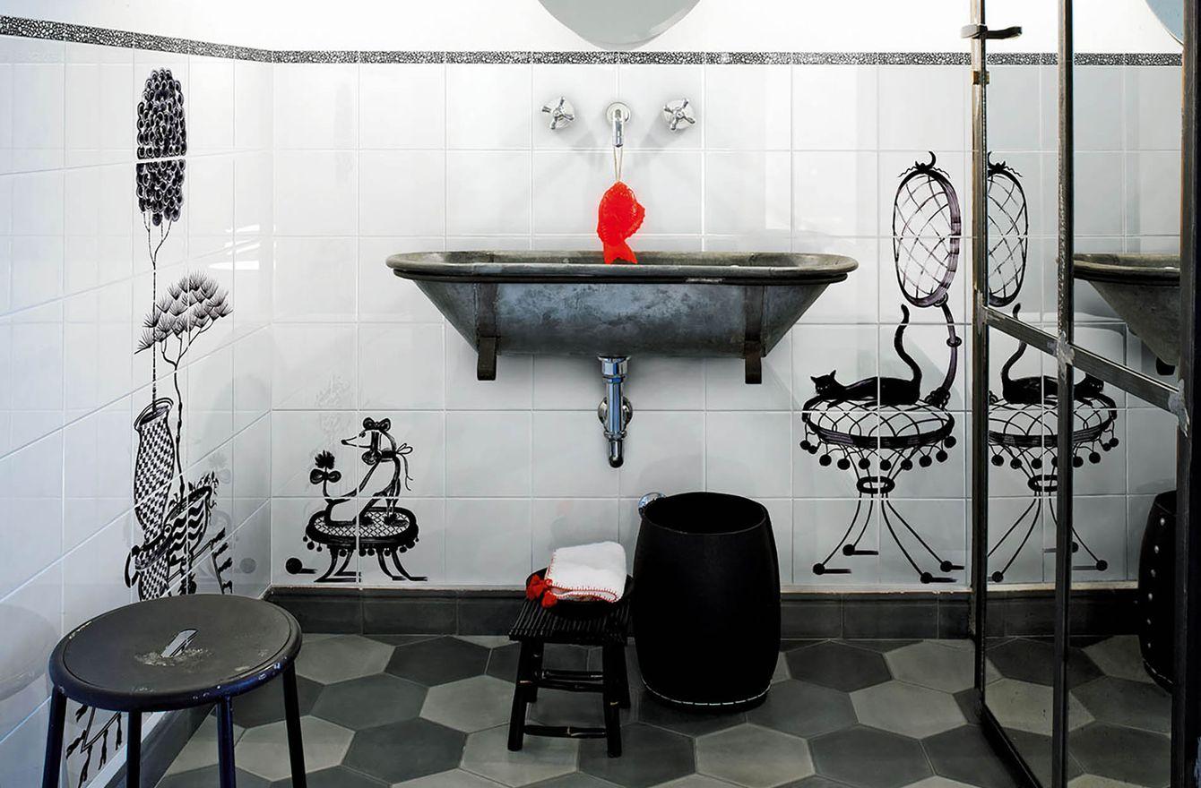 Коллекция плитки Cuban Black