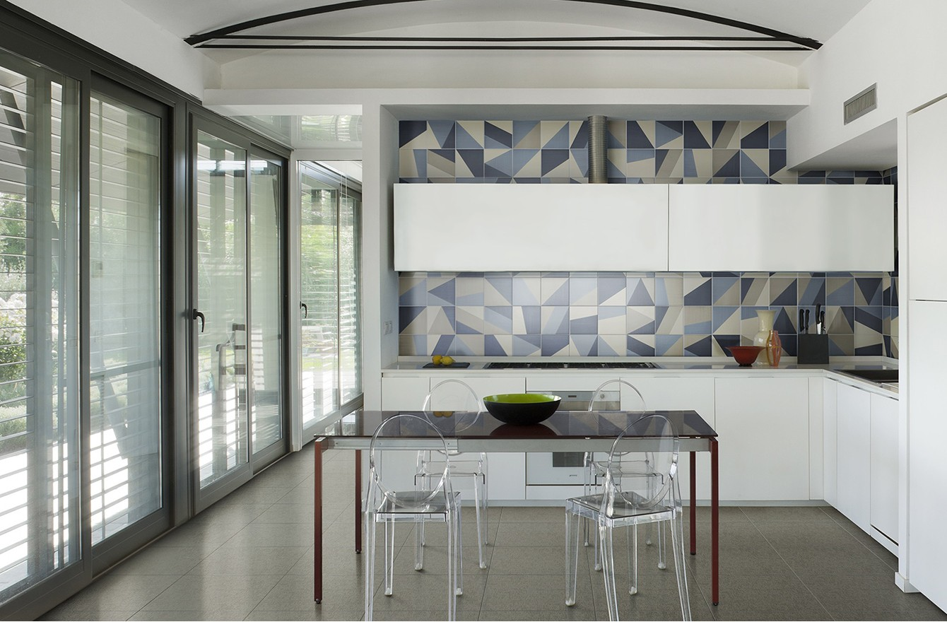 Коллекция плитки Tangram