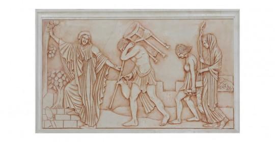 Коллекция плитки Marble bas-reliefs