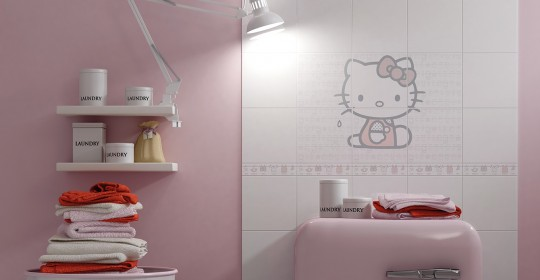 Коллекция плитки Hello Kitty Easy