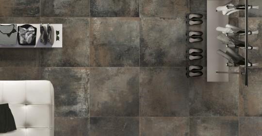 Коллекция плитки Rust
