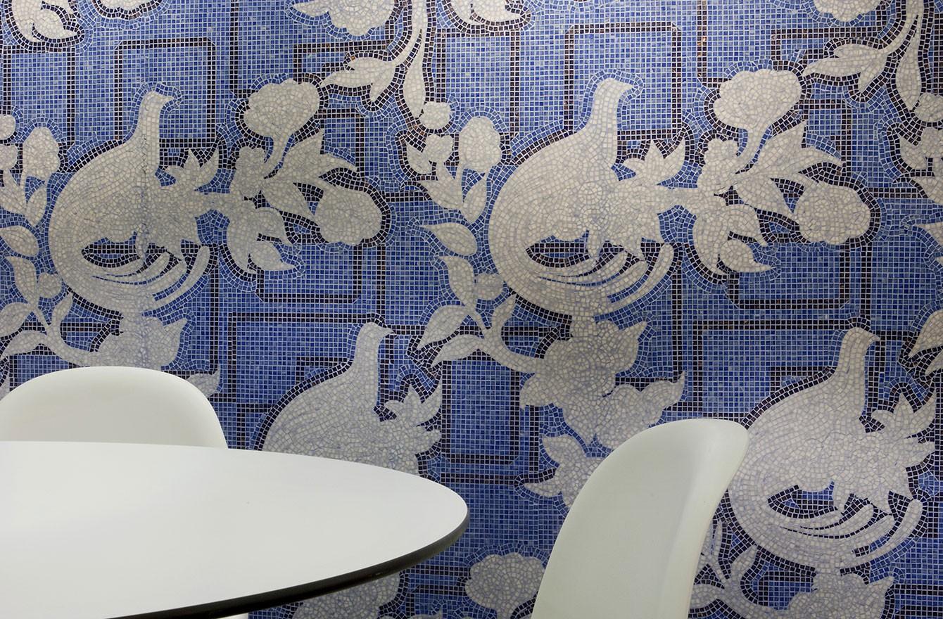 Коллекция плитки Artistic Mosaic Peacock