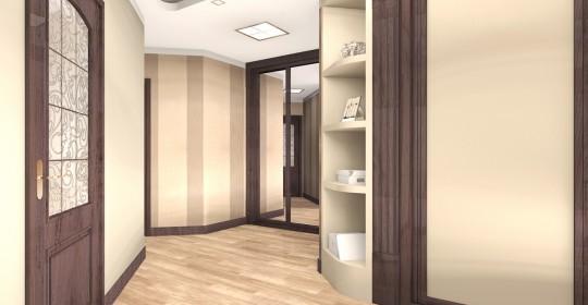 Квартира в Петергофе в стиле современная классика