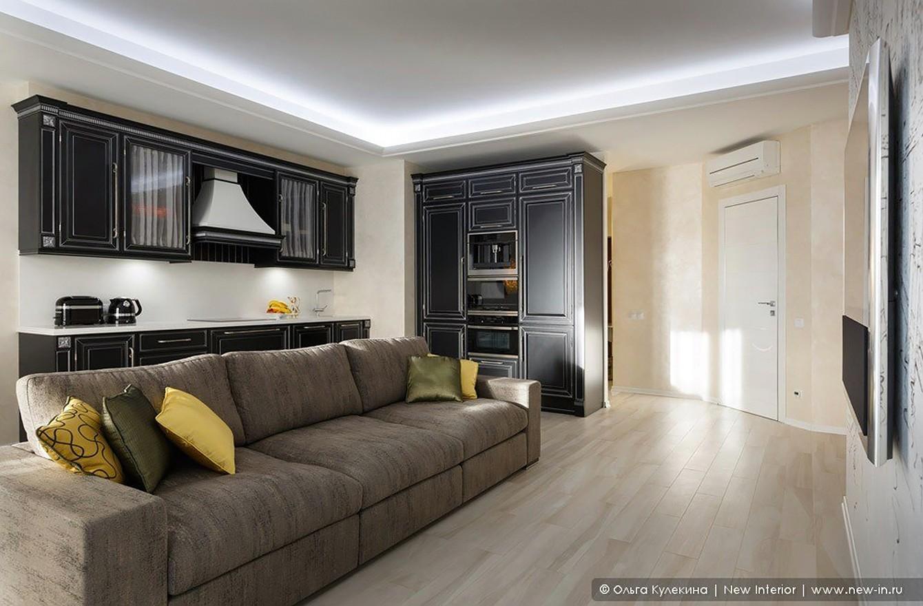 Квартира с террасой «Черное золото»