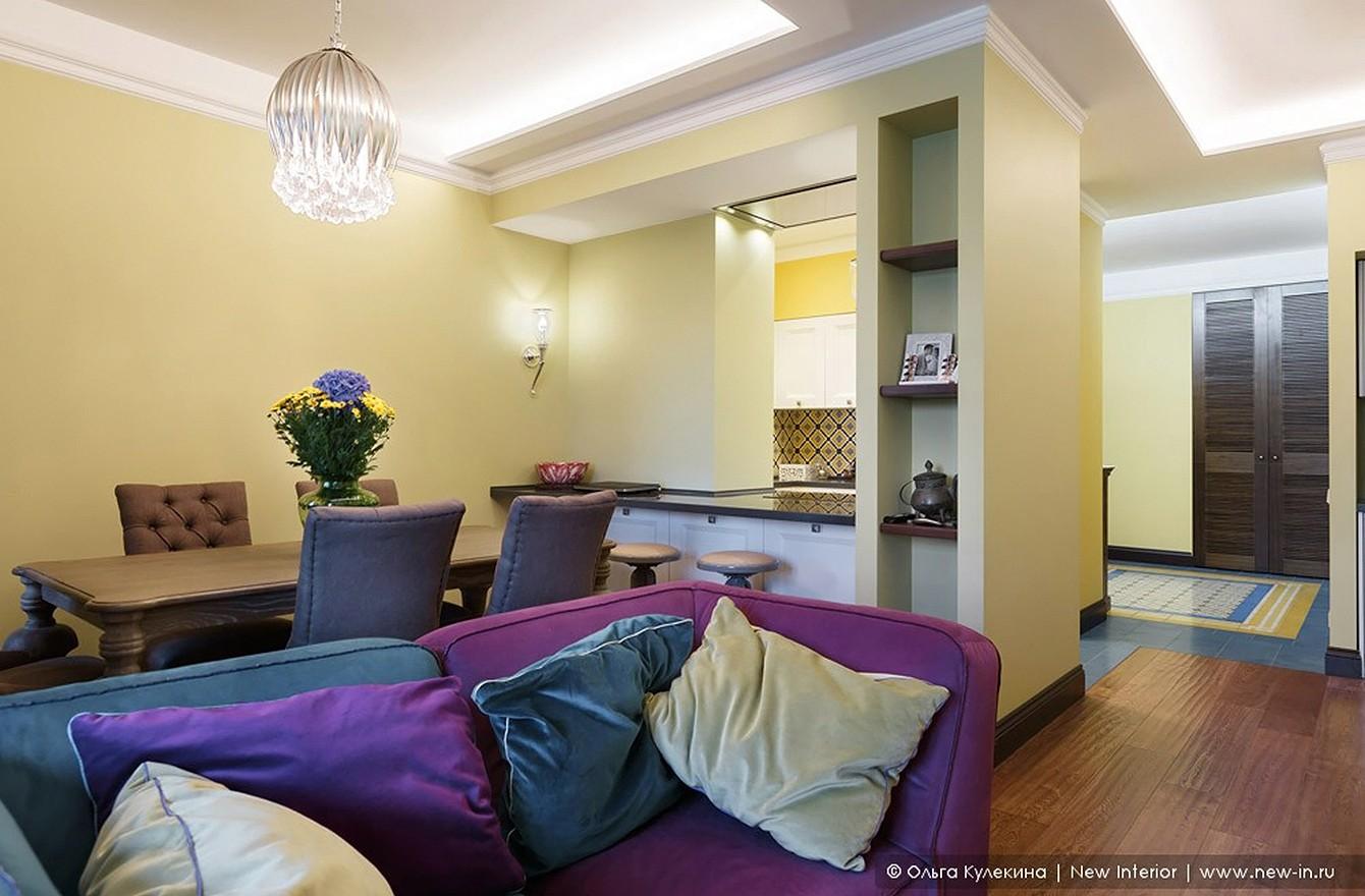 Квартира в колониальном стиле