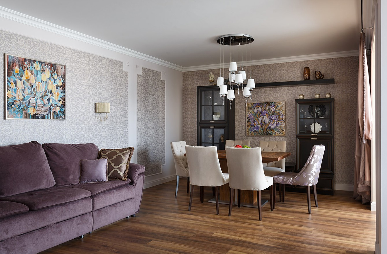 Двухуровневая квартира в Пушкине
